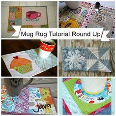 mug+rugs | Mug Rug Tutorial Round Up