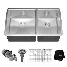 10 Top 10 Best Double Bowl Stainless Steel Kitchen Sinks In