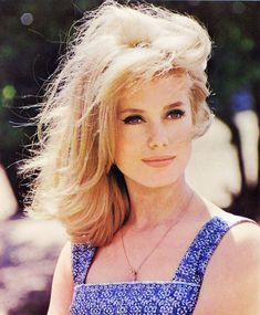 Technicolored Catherine Deneuve