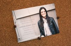 Custom Graduation Announcements 20 printed by TheWatershedStudio, $30.00