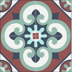 Tile Design, Design Art, Pattern Design, Patchwork Tiles, Paisley Art, Ramadan Crafts, Ceramic Birds, Digital Scrapbook Paper, Tropical Art