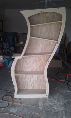 Dr Seuss Themed Bookshelf by JFhomemadefurniture on Etsy, $575.00