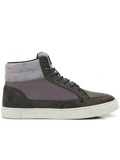Chaussures Moyeu Gris Pour Les Hommes GLSB7C1QVn