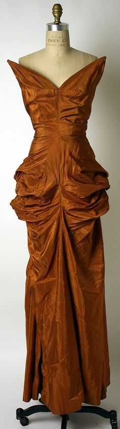Elsa Schiaparelli, 1949 #brown