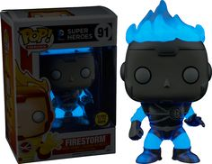 Funko Pop White Lantern Firestorm glow in the dark