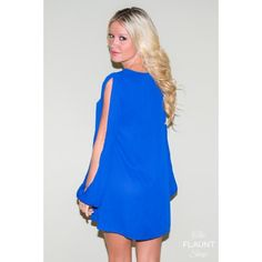 """Caution To The Wind Dress in Royal Blue (Use coupon code MISSMAKALA under """"view cart"""" before checkout to receive a discount on your order)"""