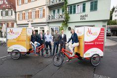 Lastenrad Lieferservice VeloCarrier #nachhaltigeMobilität