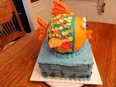 Another Fish Cake!  This makes me smile!