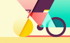 Selected illustrations created in 2016 by Ray Oranges. Often featured on WE AND THE COLOR, Ray Oranges is an exceptional freelance illustrator from Italy. Design Trends 2018, Graphic Design Trends, Graphic Design Inspiration, Daily Inspiration, Illustration Design Graphique, Art Graphique, Bicycle Illustration, Creative Illustration, Graphisches Design