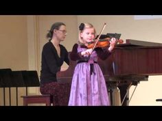 Gavotte from Mignon for Violin […] Concert version—See more of young violinist #daughter_from_jstalyga