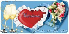 Felicitari de la multi ani - La multi ani, Mariana! Anniversary Greeting Cards, Cake Designs, Birthday Candles, Make It Yourself, Table Decorations, Flowers, Designer Cakes, Nicu, Youtube