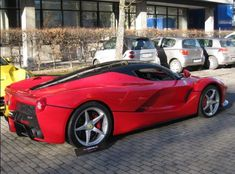 The first #LaFerrari has been put up for sale in Germany this week and as it was the first ever made, it is a tad special… and expensive.  Hit the pic to check it out...