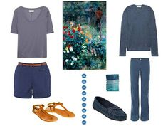 Building a Capsule Wardrobe by Starting with Art: Garden in the Rue Cortot | The Vivienne Files