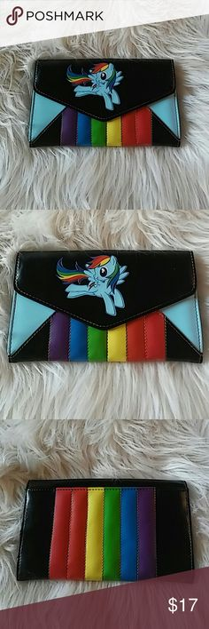 My Little Pony Wallet Faux leather wallet. NWOT. 6 card slots. #brony Bags Wallets