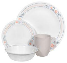 Corelle® Livingware™ Apricot Grove 16-pc Dinnerware SetLivingware™ Apricot Grove 16-pc Dinnerware Set