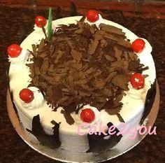 order Black Forest cake online, cake delivery noida, send cake online gurgaon