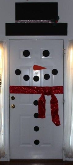 Frosty the doorman