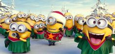 We all know that Minions are soo cute, lovely and adorable, we all love them soooo much. Christmas Is Coming And here Minions are wishing you a very happy Merry Christmas Minions, Wish You Merry Christmas, Merry Christmas Greetings, Christmas Cartoons, Christmas Music, Christmas Carol, Christmas Humor, Christmas 2014, Christmas Medley