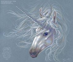 The Last Unicorn by April Schumacher on Unicorn And Fairies, Unicorn Fantasy, Unicorns And Mermaids, Unicorn Horse, Unicorn Art, Rainbow Unicorn, Magical Creatures, Fantasy Creatures, Pegasus