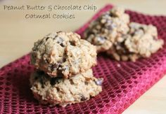 Peanut butter chocolate chip cookies. 138 calories and 4 weight watcher points plus