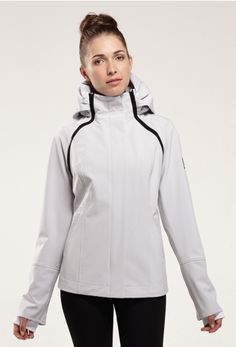 Shift Convertible Jacket & Vest- features arms and hood that are easily detached to convert the jacket into a vest. Includes contrasting zippers with full hood and back gusset. $280. Visit asmarequestrian.com.