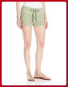 Roxy Women's Livin in a Dream Beach Shorts Elastic Waist, Oil Green, S - All about women (*Amazon Partner-Link)