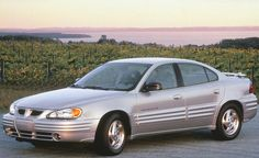 1999 Pontiac Grand Am SE - Actually my car - not the actual picture but mine is in brand new condition and I <3 her!