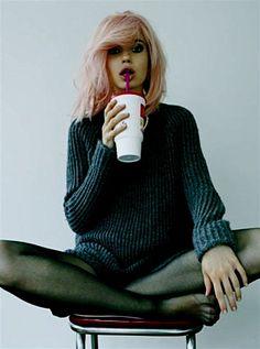 milkshake hair