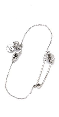 Juicy Couture Safety Pin Bracelet | SHOPBOP