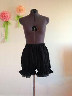 Black Gothic Lolita Bloomers