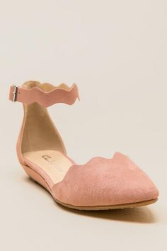 Cl by Laundry - Studio Scalloped D'Orsay Flat |                                              francesca's