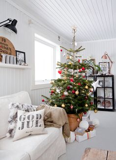 Christmas at Janne Eltons home in Norway