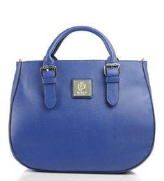 Amazon.com: Noble Mount Marianne Satchel/Handbag - Blue: Clothing