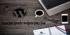 Cursos para aprender wordpress,basico,intermedio,avanzado. Wordpress, Tableware, Move Forward, Single Wide, Step By Step, Life, Dinnerware, Dishes