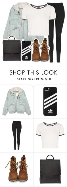"""""""Wardrobe Staples: Leggings"""" by scared-of-happy ❤ liked on Polyvore featuring adidas, Topshop and Building Block"""