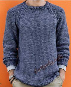 Пуловер (м) 04*677 Phildar №5029