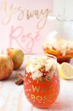 Honey Apple Rosé Sangria