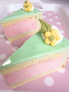 pastels.quenalbertini: Cake slices