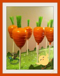 Edible Carrot Cake Pops!!! Cake Pop Designs, Holiday Cakes, Carrot Cake, Custom Cakes, Cake Pops, Quotes, Desserts, Personalized Cakes, Quotations