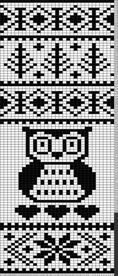 Knitting Charts Free Fair Isles Tapestry Crochet New Ideas Owl Knitting Pattern, Loom Knitting Stitches, Knitting Charts, Knitting Socks, Knitting Machine, Free Knitting, Crochet Hats For Boys, Fair Isle Knitting, Tapestry Crochet