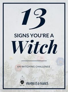 If you have dreams and visions, of past lives and the future, you might be a witch. If you can read other people and their energy and intentions fairly well, you might be a witch. If you often feel as if you have a Sixth Sense, you might be a witch. Wiccan Witch, Magick Spells, Wiccan Magic, Witchcraft Books, Wiccan Books, Witchcraft Supplies, Witch Signs, Witchcraft For Beginners, Wicca For Beginners