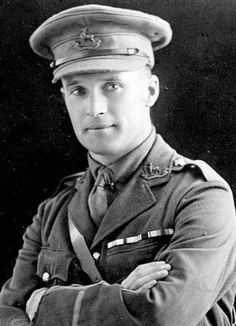 Volunteer: Harry Drinkwater, pictured, recorded the horrors of the First World War in vivid diary entries