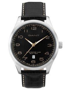 GANT MONTAUK | W71301 Sport Watches, Watches For Men, Omega Watch, Leather, Accessories, Genere, Black, 3, Glove