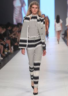 Stripes at Ellery, Melbourne Fashion Festival, March 2013