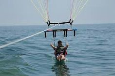 You can be dipped in the water at your request this summer! #HorizonParasailInc