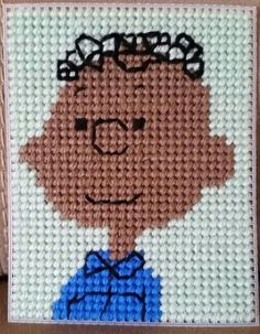 Peanuts Franklin Tissue Box Cover