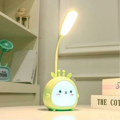 Get awesome stationery and gifts by visiting link in bio or go to www.otrioshop.com 💖 Free shipping to all countries! ✉️ For credit/copyright issue, please email us 🌈 #stationery #desklamp #lamp #kawaiistuff #kawaiilife #kawaiilifestyle Led Desk Lamp, Table Lamp, Student Dormitory, Desk Accessories, Usb, Cool Gadgets, Night Light, Cute Animals, Eyes