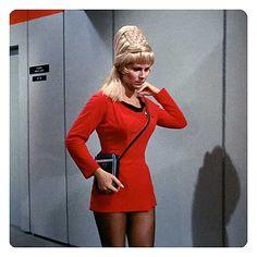 Star Trek TOS Starfleet Officer Female Uniform Skant Pattern