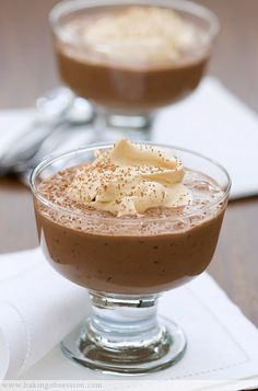 Chocolate Rice Pudding w/Caramel Creme Chantilly: It's the chantilly that has piqued my interest.