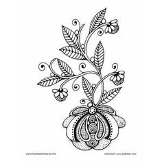 Free Flowering Coloring Page